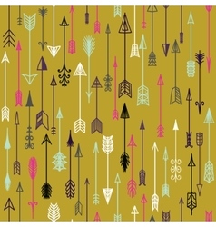 Seamless colorful ethnic pattern with vector