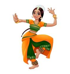 Indian dancer2 vector