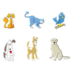 animals cute vector image