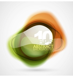 Translucent shapes vector