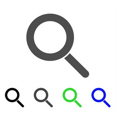 locate flat icon vector image vector image