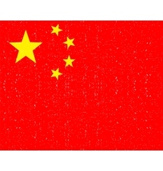 National flag of china vector
