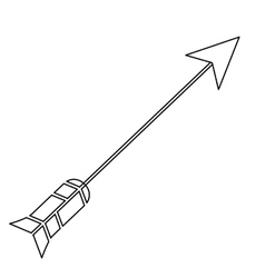 Arrow archery icon image vector