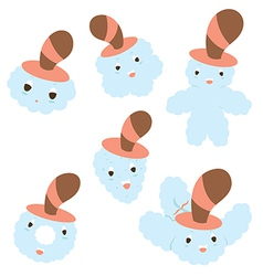 baby cartoons vector image