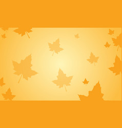 Background maple autumn thanksgiving celebration vector