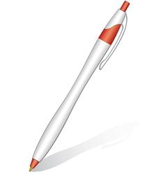 Ball pen vector image vector image