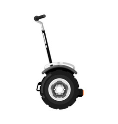 city gyroscooter isolated icon in flat design vector image vector image