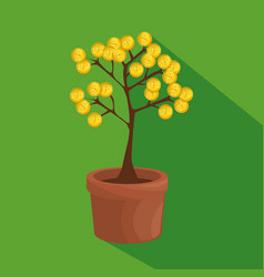 Money tree business concept vector