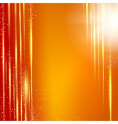 Red background with light effect vector image vector image