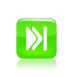 skip icon vector image vector image