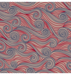 Seamless abstract pattern waves vector