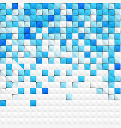 abstract blue paper background vector image
