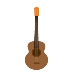guitar musical instrument vector image vector image