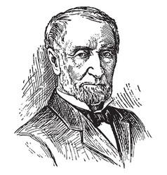 joseph gurney cannon vintage vector image vector image