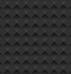 Modern black background - seamless vector image