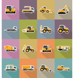Transport flat icons 38 vector