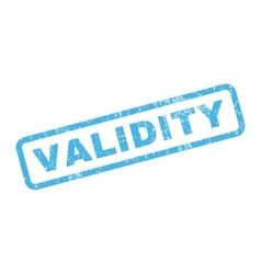 Validity rubber stamp vector