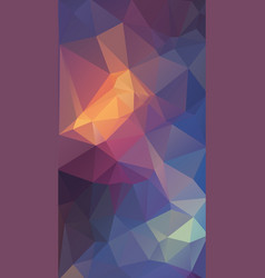 vertical modern flat background of geometric vector image vector image