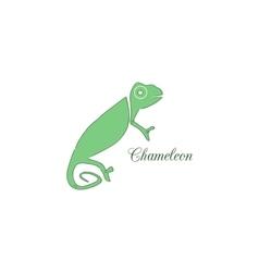Chameleon logo identity design template vector