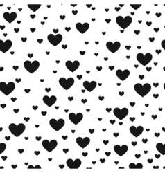 Heart black and white print background for website vector
