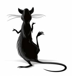 Rat cartoon vector