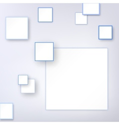 Background with blue square vector