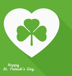 Saint patricks day label vector