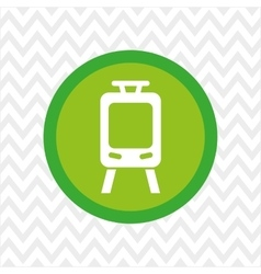 Subway button icon design vector
