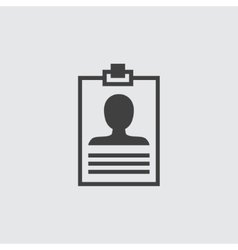 Badge icon vector image