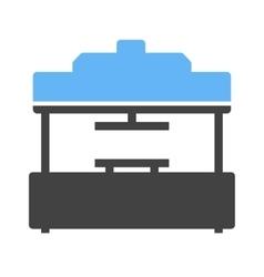 Machine press vector