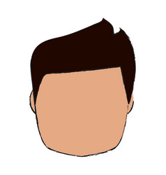 Man head design vector