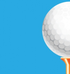 tee off vector image vector image