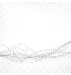 Modern abstract speed stream swoosh wave vector