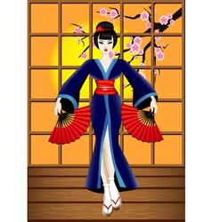 Geisha vector