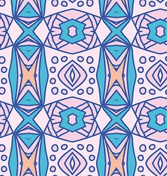 Abstract seamless ornament pattern the vector