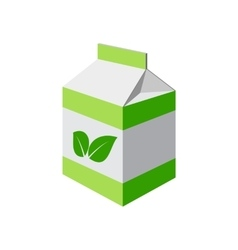 Green package isolated vector