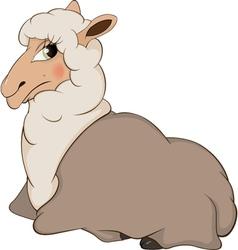 Lamb cartoon vector