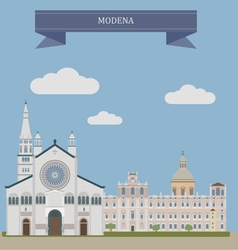 Modena vector image vector image