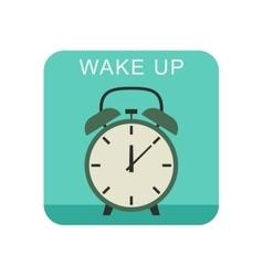 Wake up icon vector