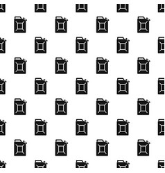fuel jerrycan pattern vector image