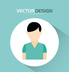 Avatar icon design vector