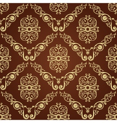 Seamless vintage decor vector