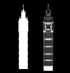 big ben vector image vector image