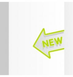 sale arrow tag vector image vector image