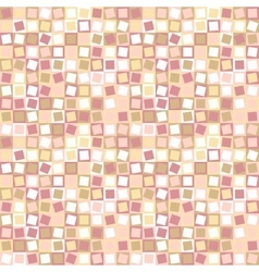 Seamless abstract square pattern vector image