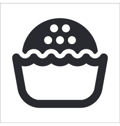 sweet icon vector image vector image