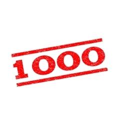 1000 Watermark Stamp vector image