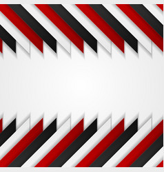 Abstract red black corporate tech background vector