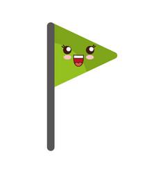 Flag icon image vector