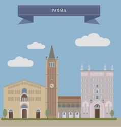 Parma vector image